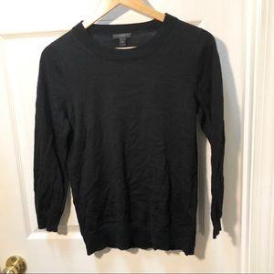 J. Crew Black Tippi Sweater Classic